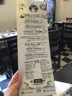 Cardápio Restaurante La Mulata