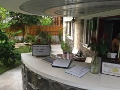Recepção do hotel Greenyard Inn
