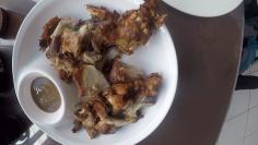Boneless Crispy Pata...encontre o erro no prato!