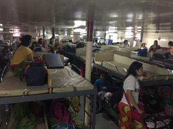Interior do navio da 2Go Travel