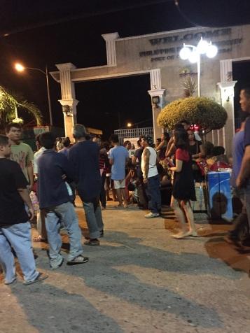 Saída do porto em Puerto Princesa
