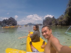 Kayak na Small Lagoon