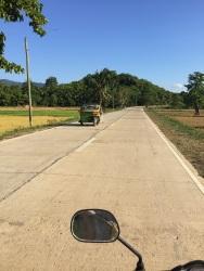 Estrada até Nacpan