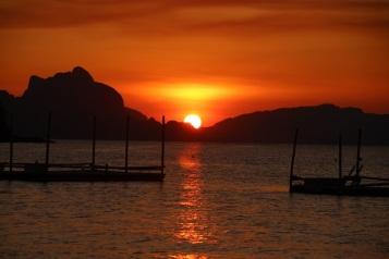 Pôr-do-sol em Las Cabañas