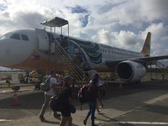 Avião com destinado a Cebu