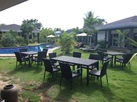 Área comum do hotel