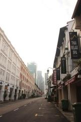 Rua do hostel