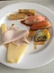 Sushi no café-da-manhã