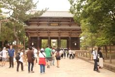 Caminho até o Todai-ji