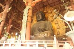 Interior do Todai-ji