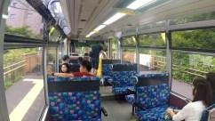 Interior do cable car