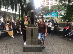 Estátua de Hachiko