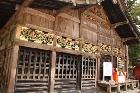 Templo Toshugo - não vê, não fala, não ouve