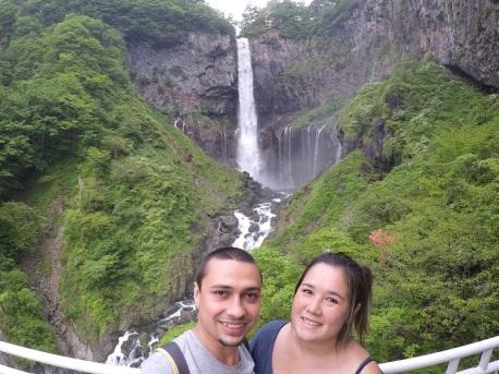 Cachoeira Kegon!