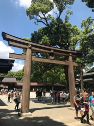 Entrada Meiji Shrine