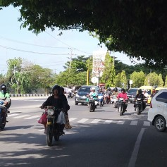 Ruas em Sorong