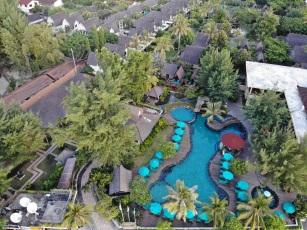 Vila Ombak - Vista de cima